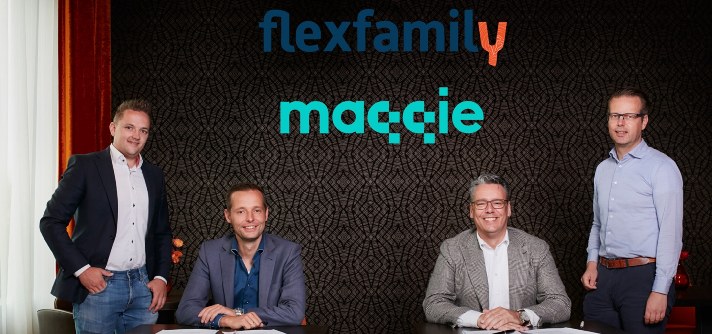 Flexfamily neemt belang in Maqqie